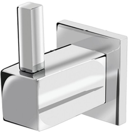 Cabide Cromado Quadrado para Banheiro - 2060-E64 - Eternit