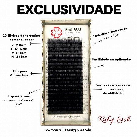 Cílios Ruby (kim kardashian) Mix Simples - 0.07