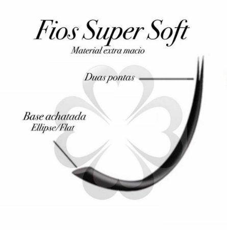 Cílios Super Soft 0.20 Ellipse - Curvatura CC