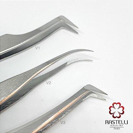 Pinça para Volume com régua - V1, V2 e V3