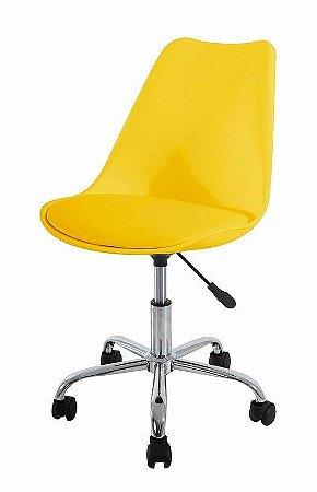 Cadeira Secretária Concha em Polipropileno
