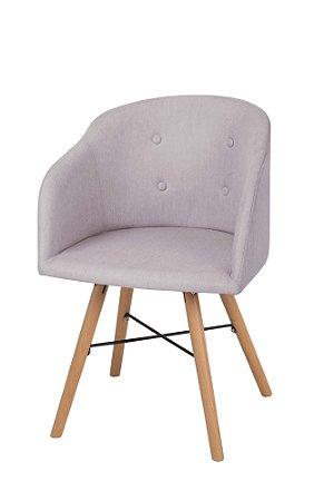 Cadeira Fixa Estofada