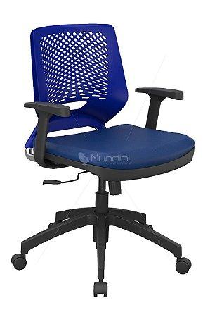 Cadeira Giratória Plaxmetal Linha Beezi