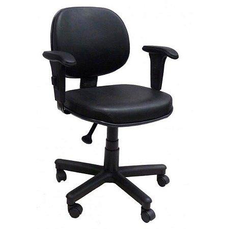 Cadeira Executiva Lisa Giratória com Braços Reguláveis