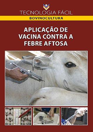Aplicação de vacina contra a febre aftosa - autor Gustavo Alves de Abreu e João Marcelo Brandini