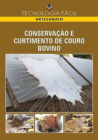 Conservação e curtimento de couro bovino - autor Maurinho Costa da Silva