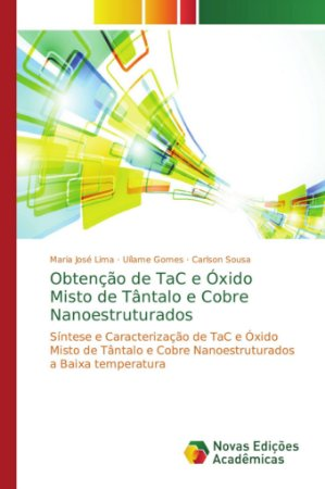 Obtenção de TaC e Óxido Misto de Tântalo e Cobre Nanoestruturados