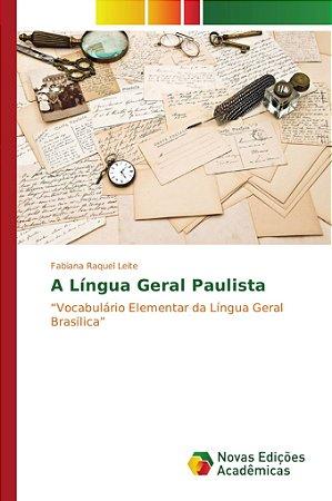 A língua geral Paulista