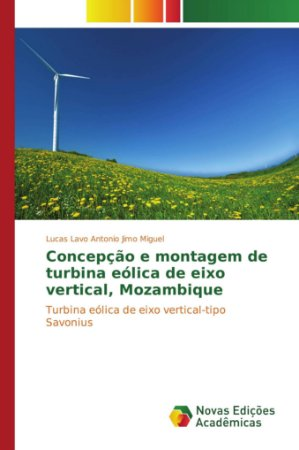 Concepção e montagem de turbina eólica de eixo vertical, Mozambique