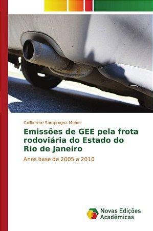 Emissões de GEE pela frota rodoviária do Estado do Rio de Janeiro