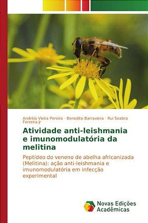 Atividade anti-leishmania e imunomodulatória da melitina