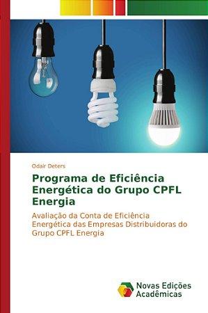 Programa de Eficiência Energética do Grupo CPFL Energia