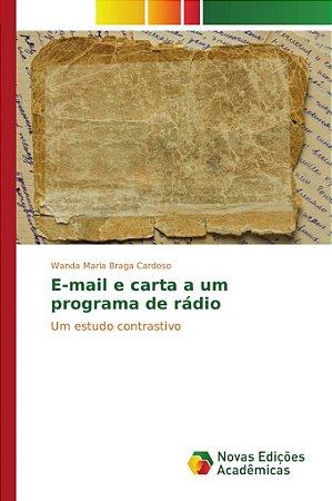 E-mail e carta a um programa de rádio