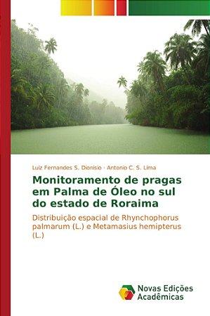 Monitoramento de pragas em Palma de Óleo no sul do estado de Roraima