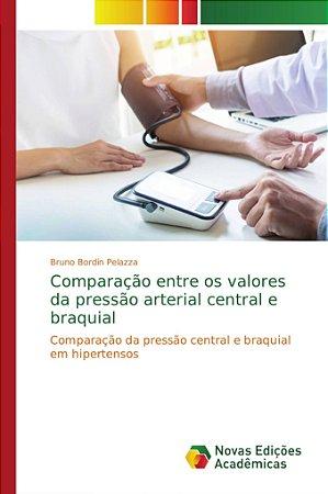 Comparação entre os valores da pressão arterial central e braquial