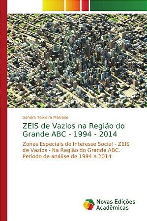 ZEIS de Vazios na Região do Grande ABC - 1994 - 2014