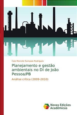 Planejamento e gestão ambientais no DI de João Pessoa/PB