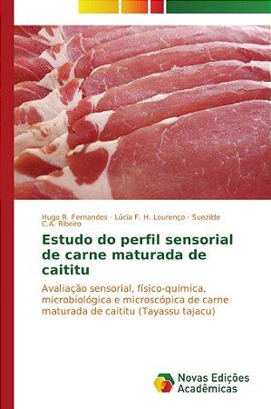 Estudo do perfil sensorial de carne maturada de caititu