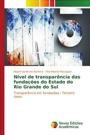 Nível de transparência das fundações do Estado do Rio Grande do Sul