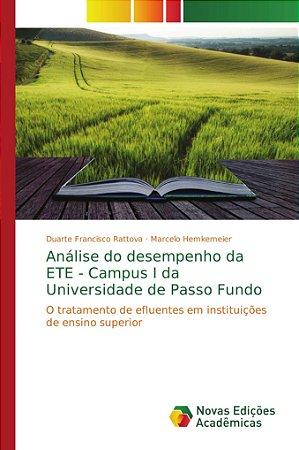 Análise do desempenho da ETE - Campus I da Universidade de Passo Fundo