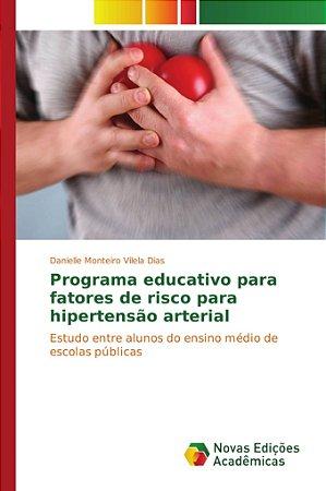 Programa educativo para fatores de risco para hipertensão arterial