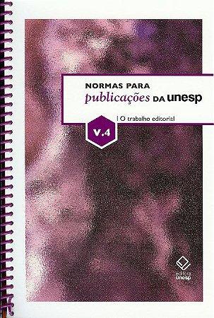 Normas para Publicações da Unesp – Vol. 4