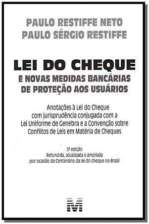 Lei do Cheque - 05 Ed. - 2012