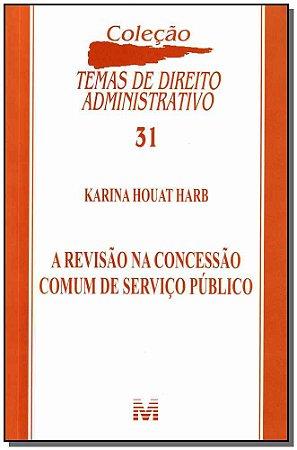 Revisao na Concessao Comum de Servico Publico/12