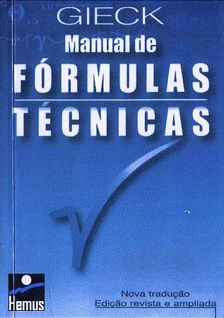 Manual de formulas técnicas