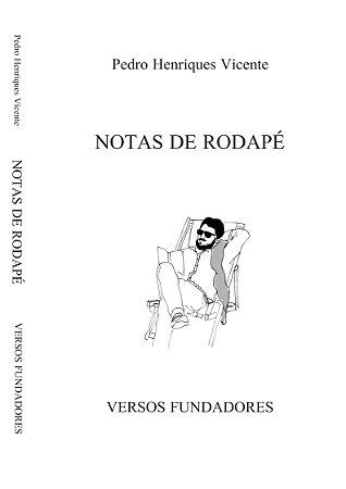 Notas De Rodapé - Versos Fundadores