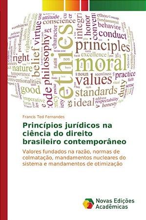 Princípios jurídicos na ciência do direito brasileiro contem