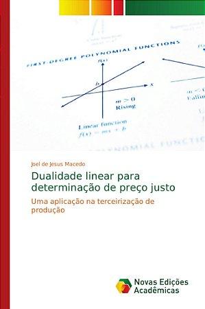 Dualidade linear para determinação de preço justo