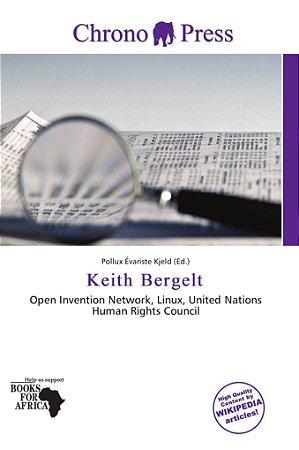 Keith Bergelt