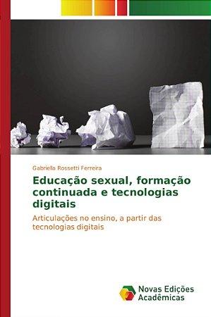 Educação sexual; formação continuada e tecnologias digitais