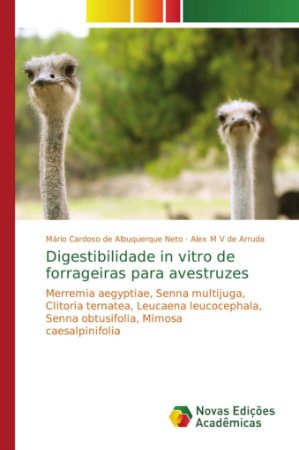 Digestibilidade in vitro de forrageiras para avestruzes