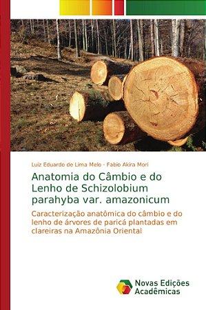 Anatomia do Câmbio e do Lenho de Schizolobium parahyba var.