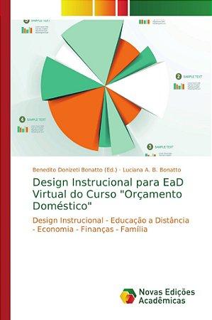 """Design Instrucional para EaD Virtual do Curso """"Orçamento Dom"""