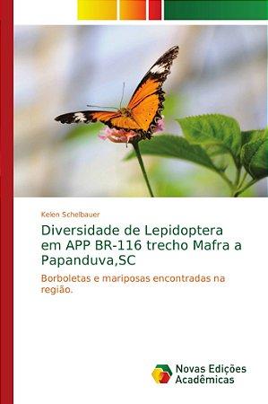 Diversidade de Lepidoptera em APP BR-116 trecho Mafra a Papa