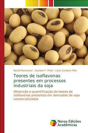 Teores de isoflavonas presentes em processos industriais da