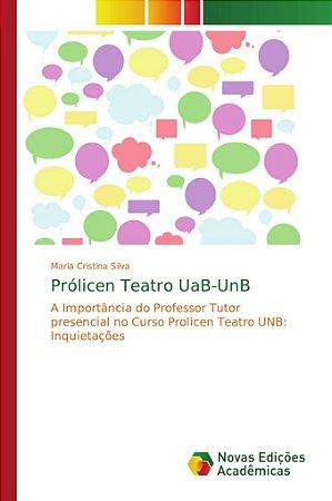 Prólicen Teatro UaB-UnB
