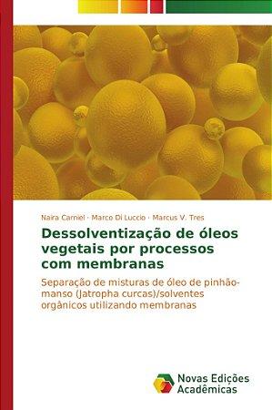 Dessolventização de óleos vegetais por processos com membran