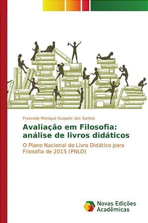 Avaliação em Filosofia: análise de livros didáticos