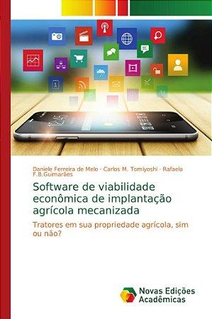 Software de viabilidade econômica de implantação agrícola me