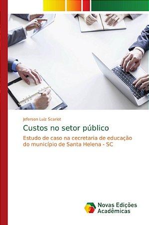 Custos no setor público