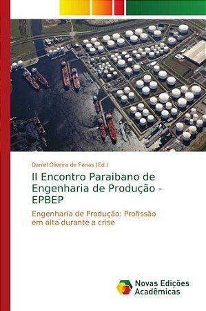 II Encontro Paraibano de Engenharia de Produção - EPBEP