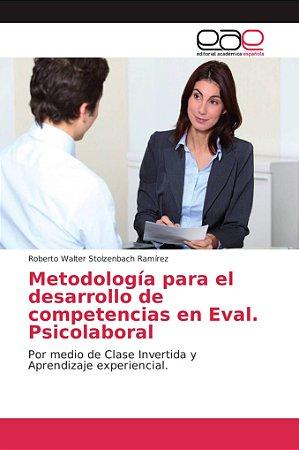 Metodología para el desarrollo de competencias en Eval. Psic