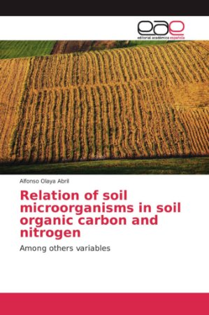 Relation of soil microorganisms in soil organic carbon and n