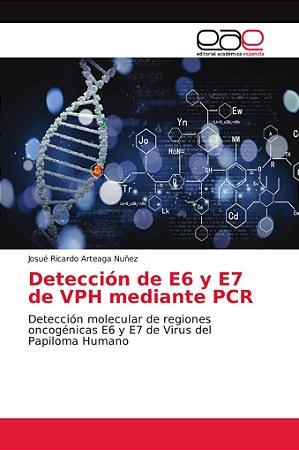 Detección de E6 y E7 de VPH mediante PCR