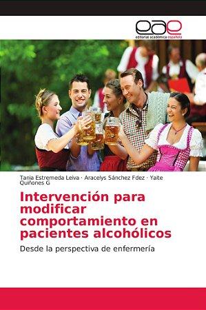 Intervención para modificar comportamiento en pacientes alco