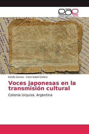 Voces japonesas en la transmisión cultural
